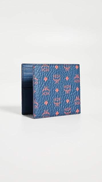 MCM Small Visetos Original Flap Wallet