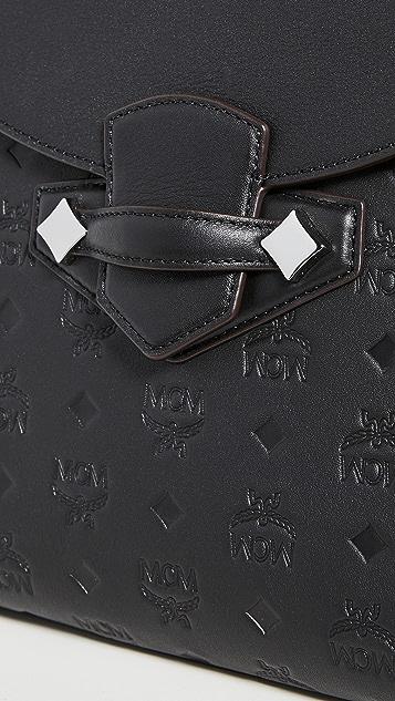 MCM Маленький рюкзак Essential с монограммами