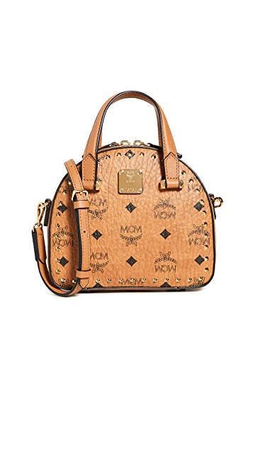 MCM Essential Studded Outline Visetos 迷你 T 包