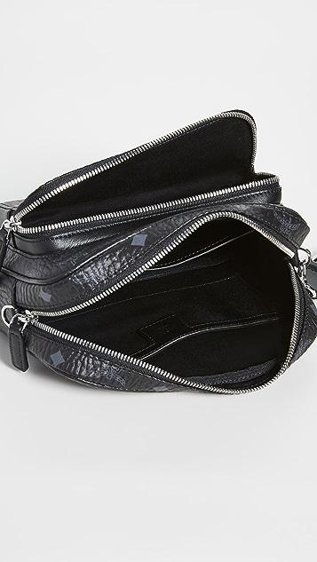 MCM Classic Visetos Small Crossbody Bag
