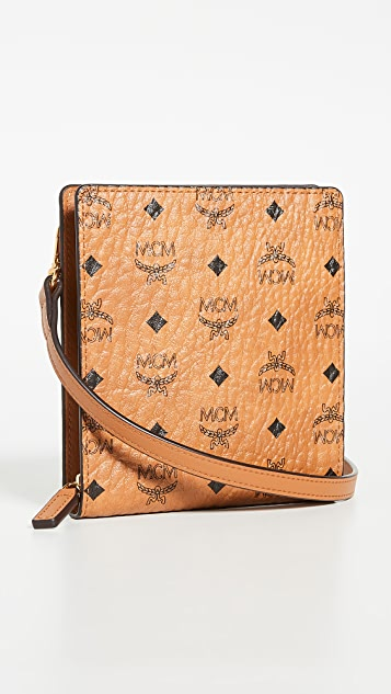 MCM Wallet with Strap