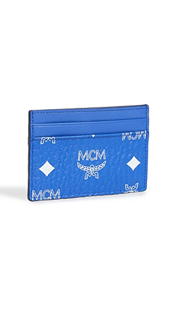MCM Visetos Original Mini Card Case