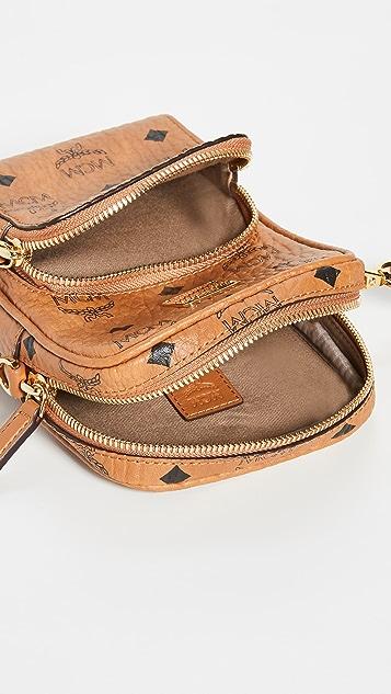 MCM Visetos Original Crossbody Bag