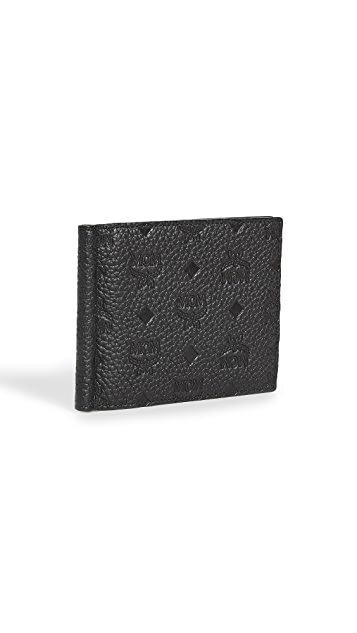 MCM Tivitat Leather Money Clip