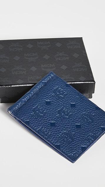 MCM Tivitat Leather Money Clip