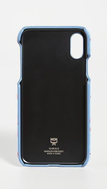 MCM Visetos Original iPhone X / XS Case