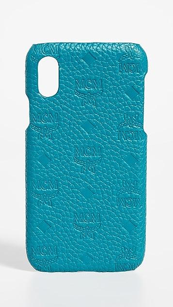 MCM Tivitat Leather iPhone X / XS Case