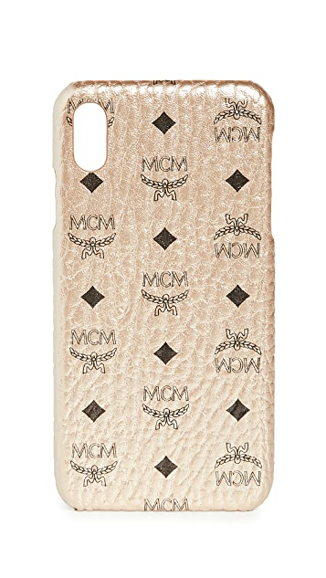 MCM Visetos Original iPhone XS Max Case