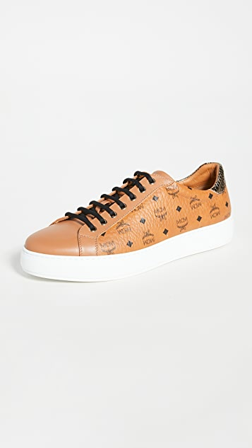 MCM Logo Group M. Sneakers