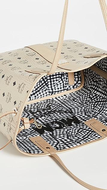MCM Shopper Project Visetos 中号购物包
