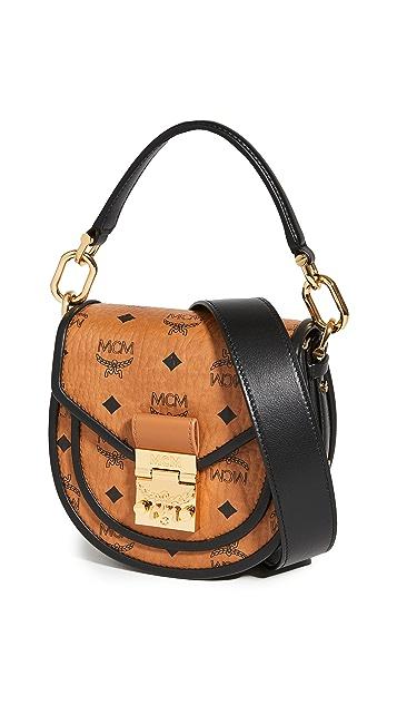 MCM Patricia Visetos Leather Block 单肩包