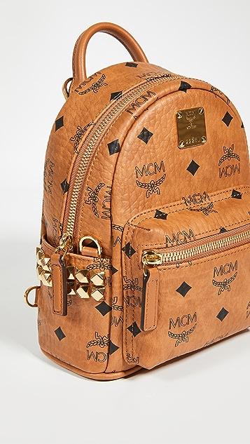 MCM Side Stud Baby Stark Backpack