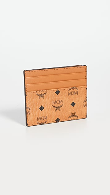 MCM Visetos Original Card Case