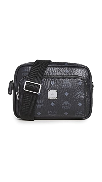 MCM Klassik Visetos Crossbody Bag