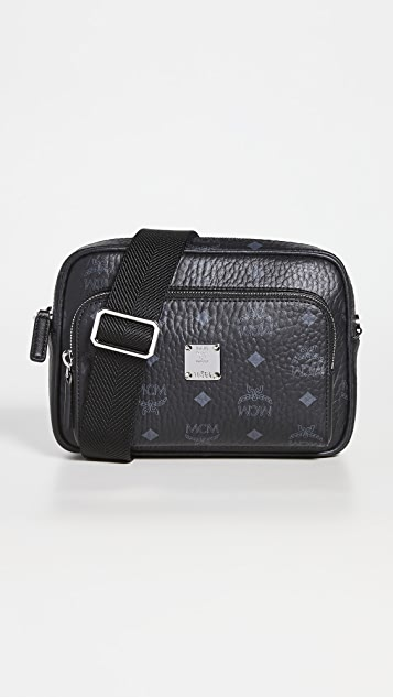 MCM Klassik Visetos Crossbody Bag