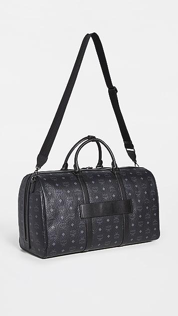 MCM Traveler Visetos Weekender 50 Bag