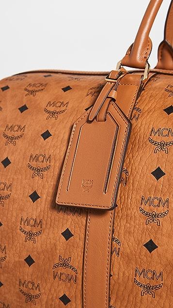 MCM Traveler Visetos Weekender Bag