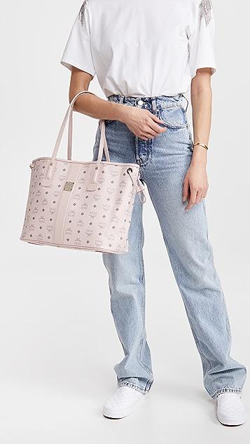 MCM Project Visetos Medium Shopper Bag