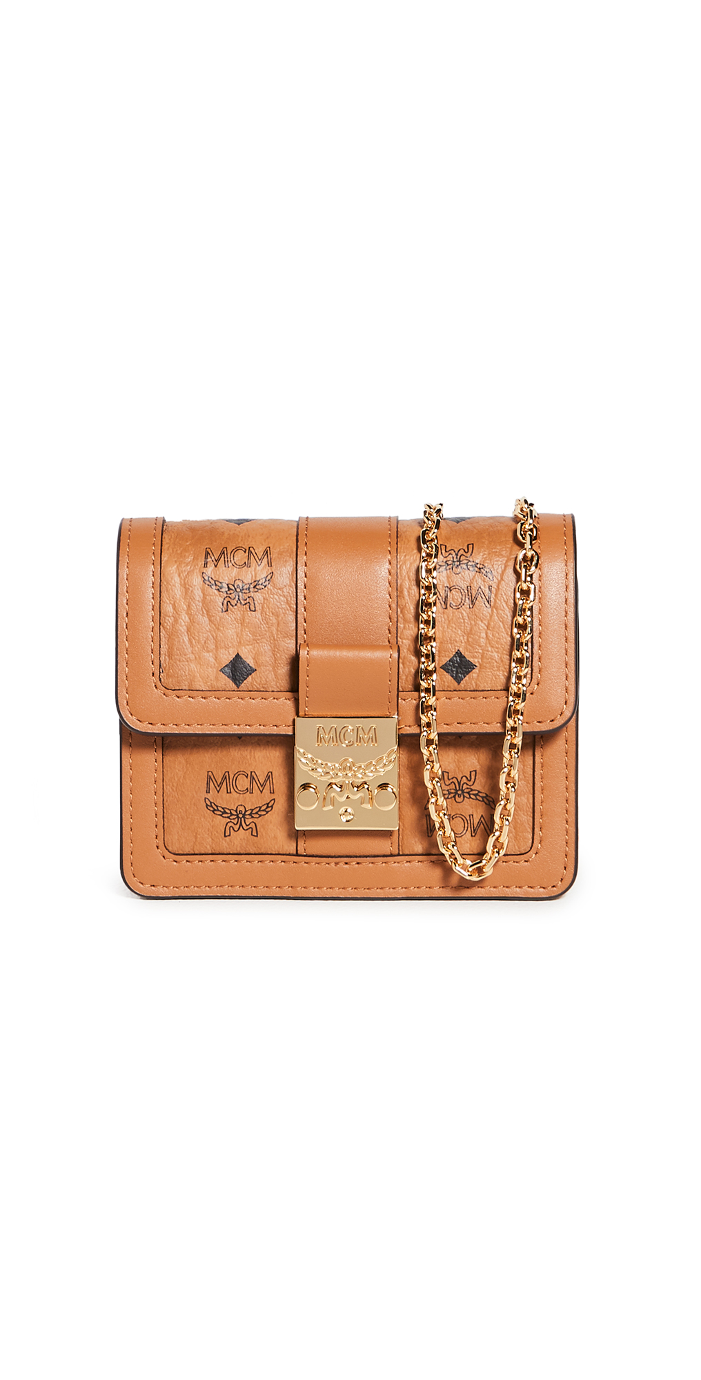 MCM Tracy Visetos Wallet on a Chain