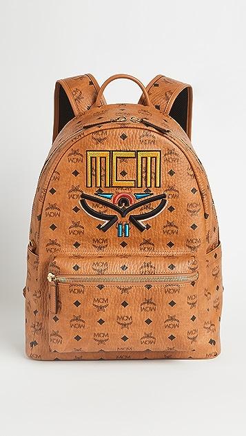 MCM Stark Neo Laurel Backpack Medium