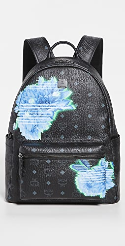 MCM - Stark Tech Flower Medium Backpack