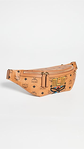 MCM Fursten Neo Laurel Belt Bag Medium