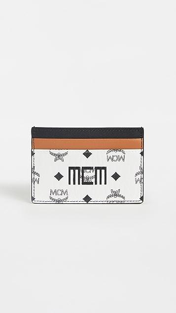 MCM Visetos Mix Card Case Mini