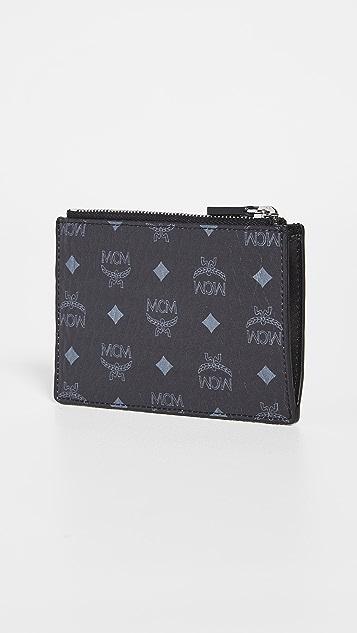 MCM Neo Graffiti Key Wallet