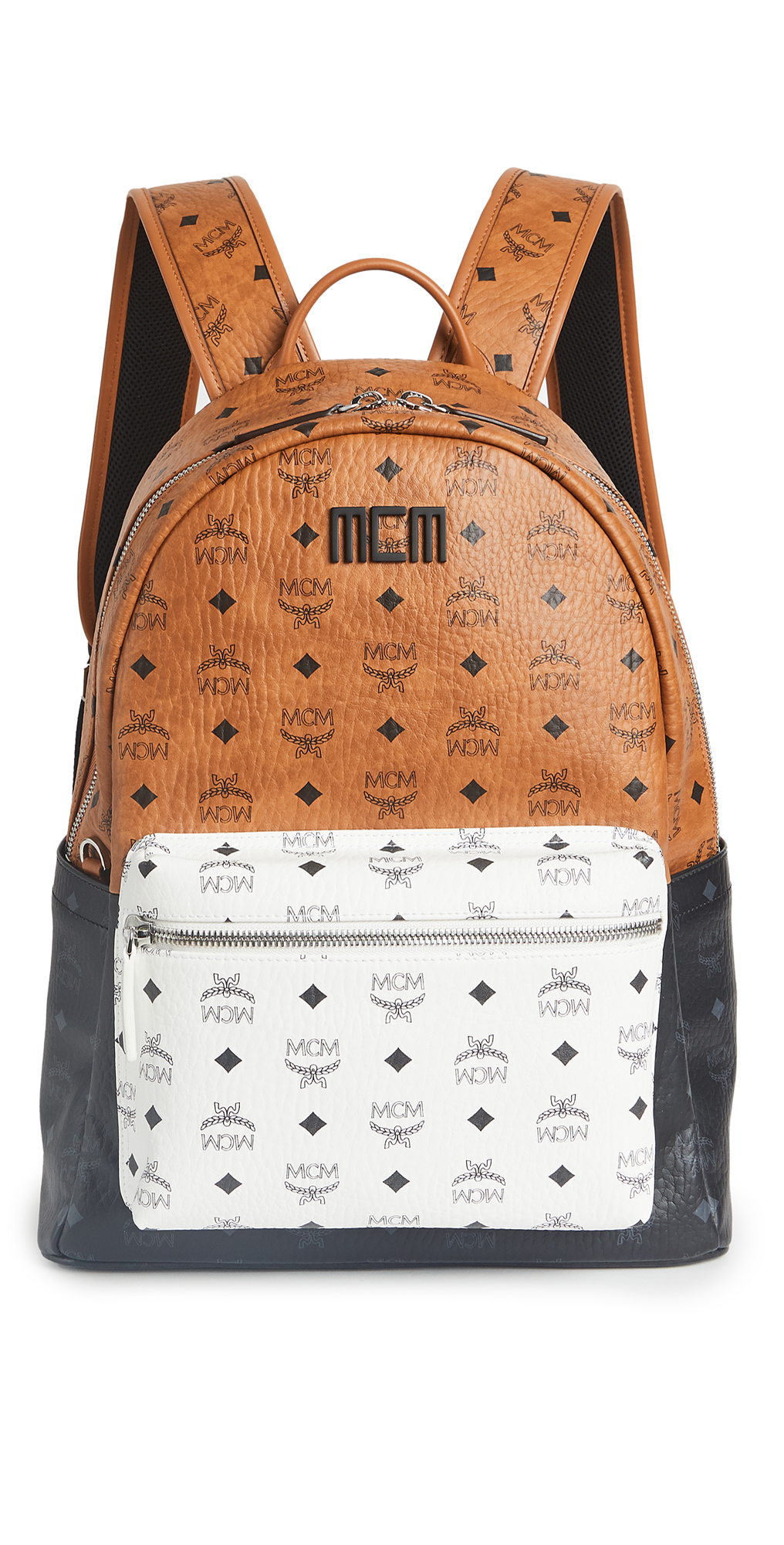MCM Stark Visetos Mix Backpack 40