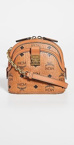 MCM - Anna Visetos Mini Crossbody Bag