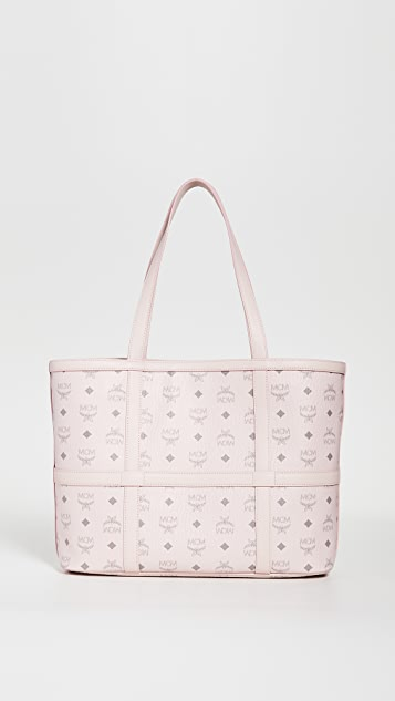 MCM Delmy Visetos Medium Shopper