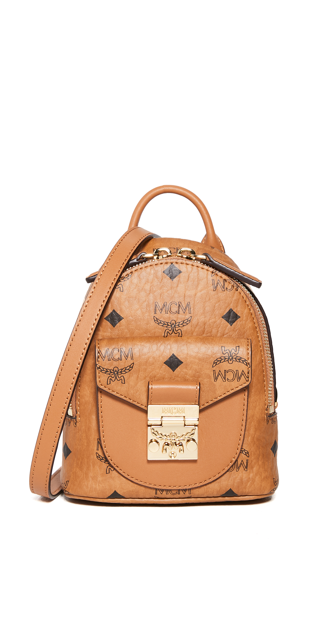 MCM Patricia Mini Crossbody Bag