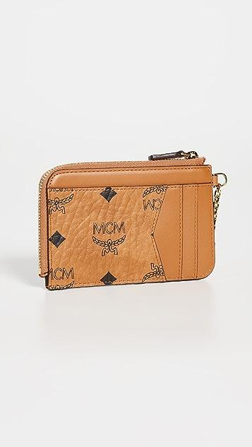 MCM Patricia Visetos Card Case Mini
