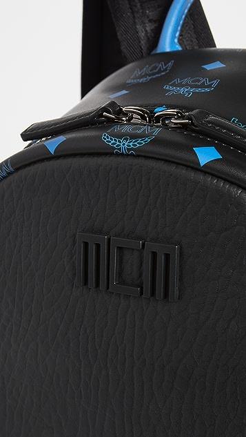 MCM Color Splash Logo Backpack