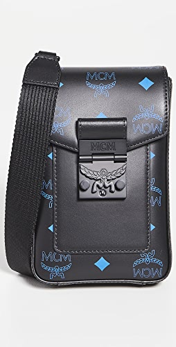 MCM - Color Splash Logo Crossbody Mini Bag