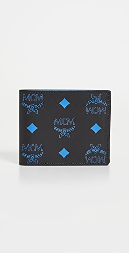 MCM - Color Splash Logo Flap Wallet