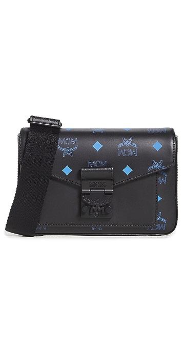 MCM Color Splash Logo Crossbody Small Bag