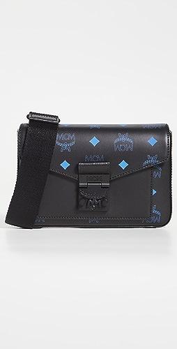MCM - Color Splash Logo Crossbody Small Bag