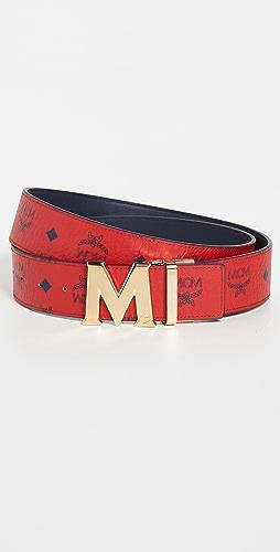 MCM - Reversible Flat M Buckle Belt