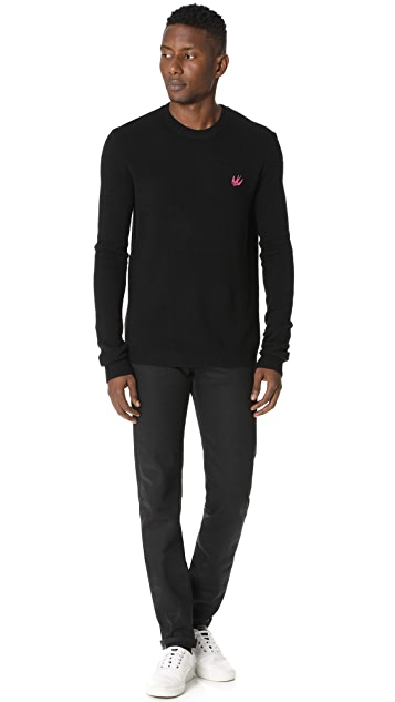 McQ - Alexander McQueen Swallow Crew Neck Sweater