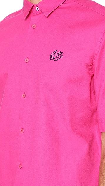 McQ - Alexander McQueen Short Sleeve Sheehan Shirt 01