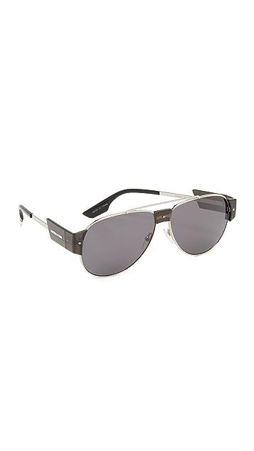 McQ - Alexander McQueen Aviator Sunglasses