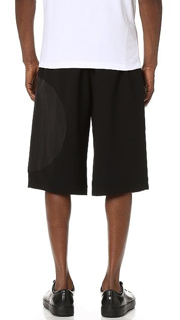 McQ - Alexander McQueen Taito Crepe Shorts