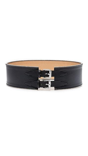 McQ - Alexander McQueen Back Buckles Cinch Belt