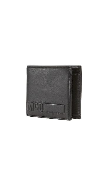 McQ - Alexander McQueen Fold Wallet
