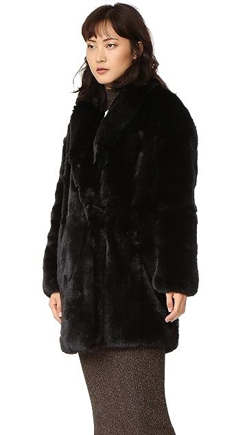 McQ - Alexander McQueen Faux Fur Coat