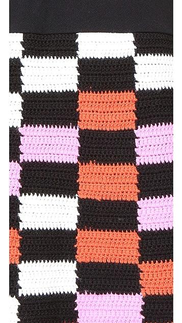 McQ - Alexander McQueen Crochet Dress