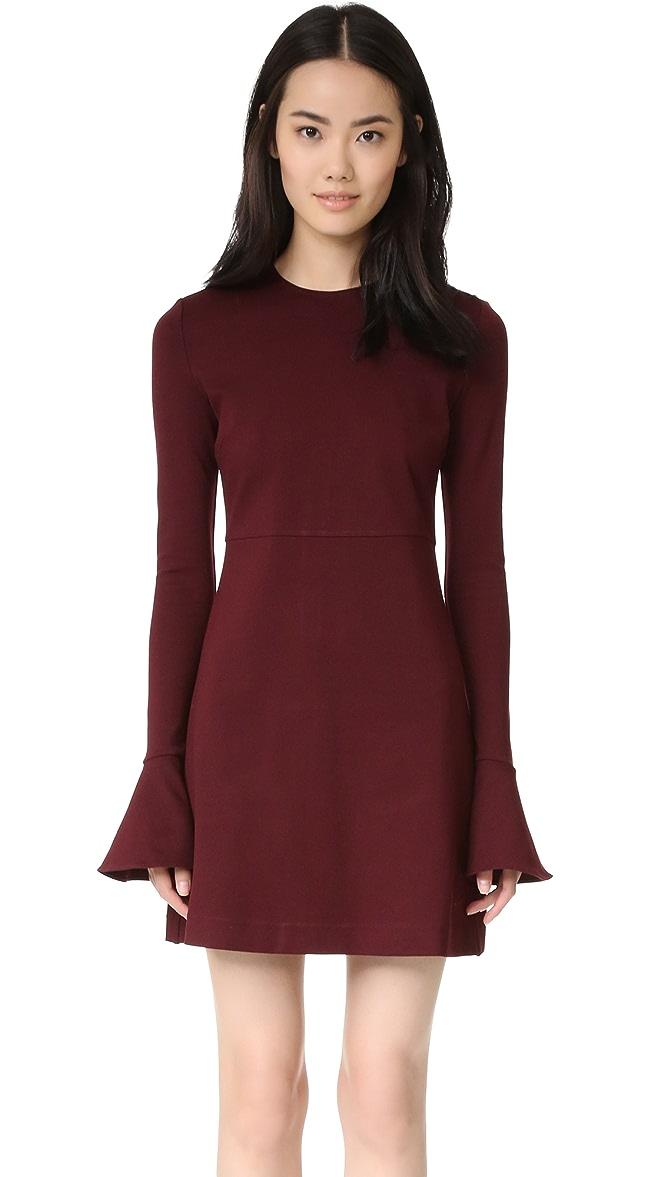 McQ - Alexander McQueen Volant Dress  1679aca14bb