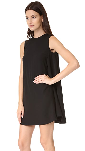 McQ - Alexander McQueen Collar Trapeze Dress