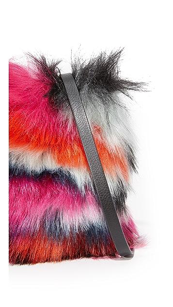 McQ - Alexander McQueen Faux Fur Pouch